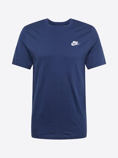 Nike Sportswear Tričko - námořnická modř / bílá, Produkt