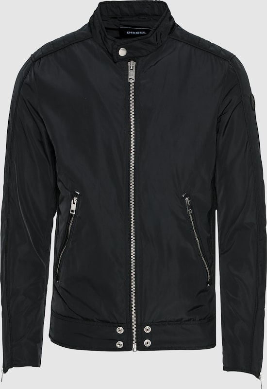 DIESEL Übergangsjacke 'J-QUAD JACKE' in schwarz  Markenkleidung für Männer und Frauen