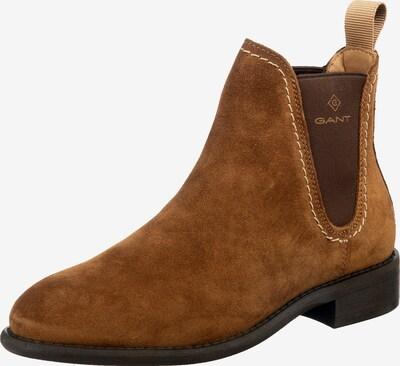GANT Chelsea Boots 'Ainsley' en marron / brun foncé, Vue avec produit