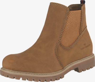 TOM TAILOR Chelsea Boots in karamell, Produktansicht