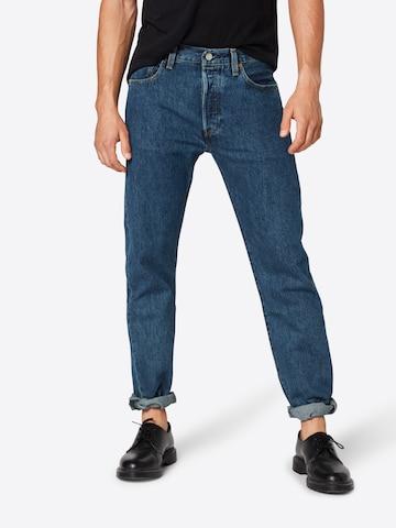 LEVI'S Jeans '501 ORIGINAL FIT' in Blau