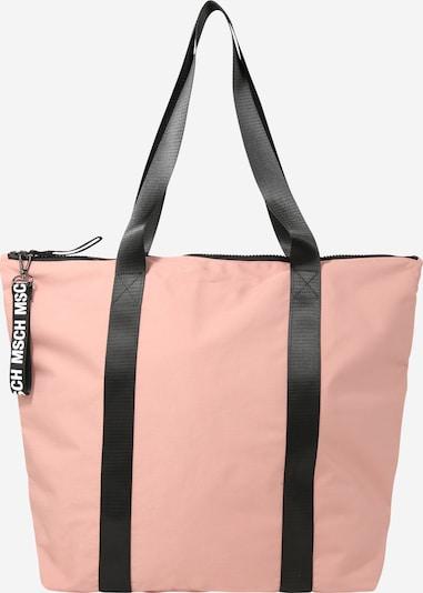 MOSS COPENHAGEN Shopper 'Milene' in rosa / schwarz, Produktansicht