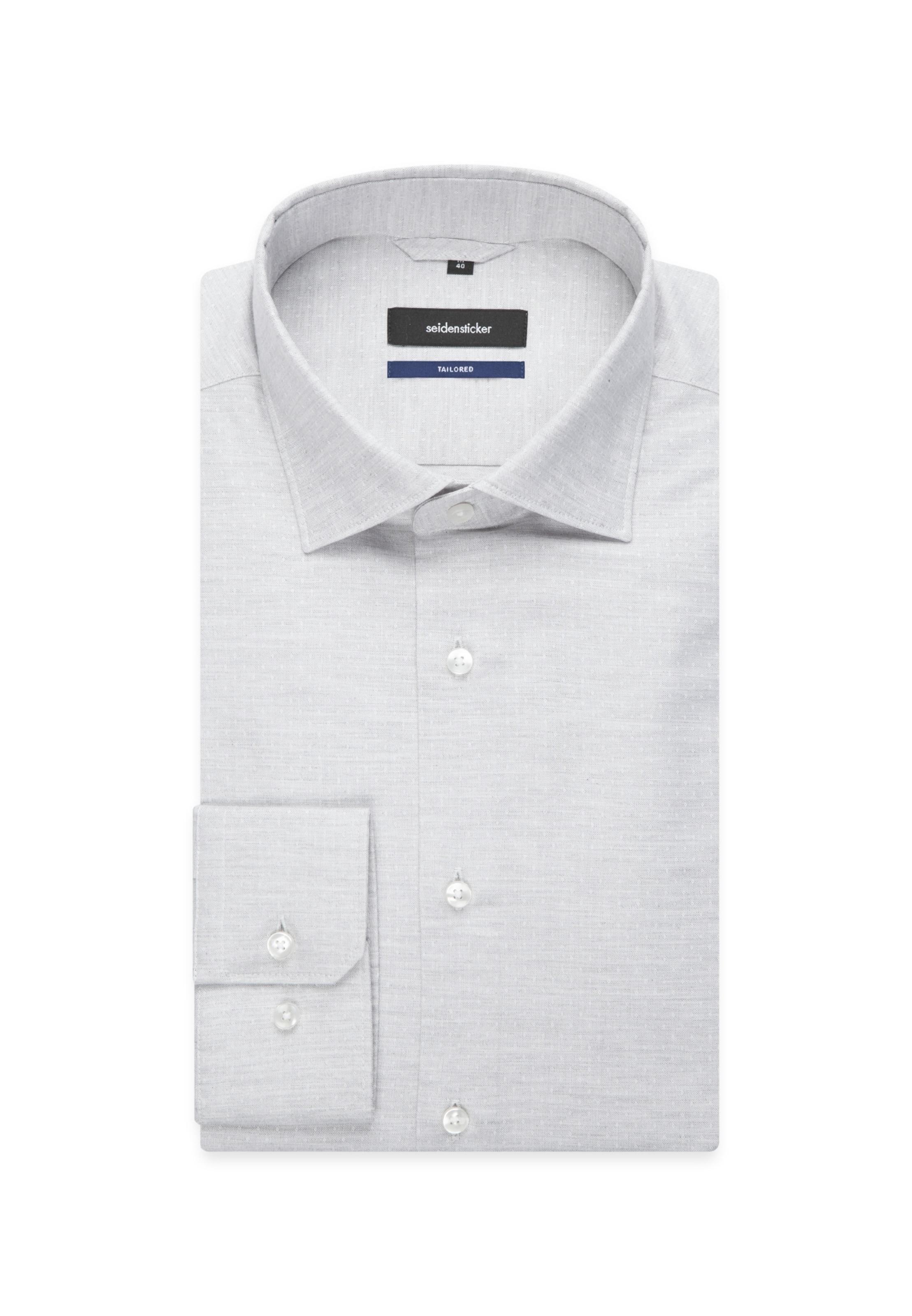 Seidensticker Seidensticker Hemd Hemd In Graumeliert q354RjLA