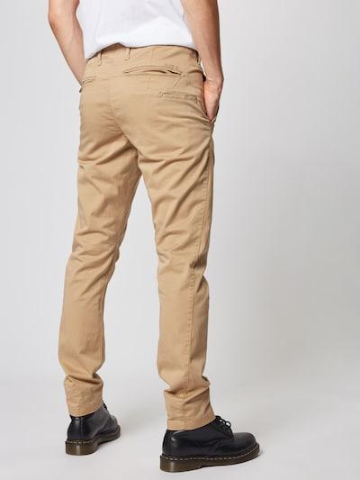 Pantaloni eleganți 'Vetar slim' G-Star RAW pe bej: Privire spate