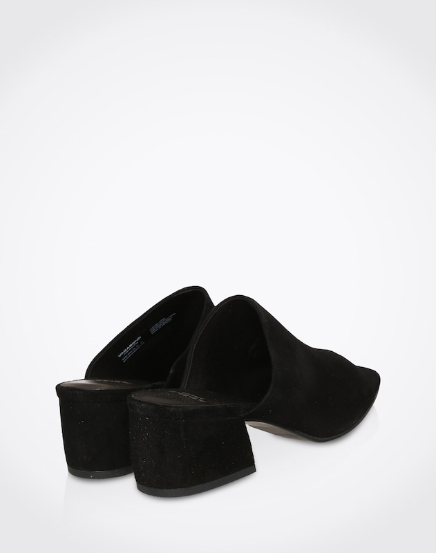 Vagabond Shoemakers Mule From Suede Saide Mule