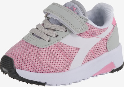 Diadora Schuhe 'Evo Run TD' in grau / pink / weiß, Produktansicht
