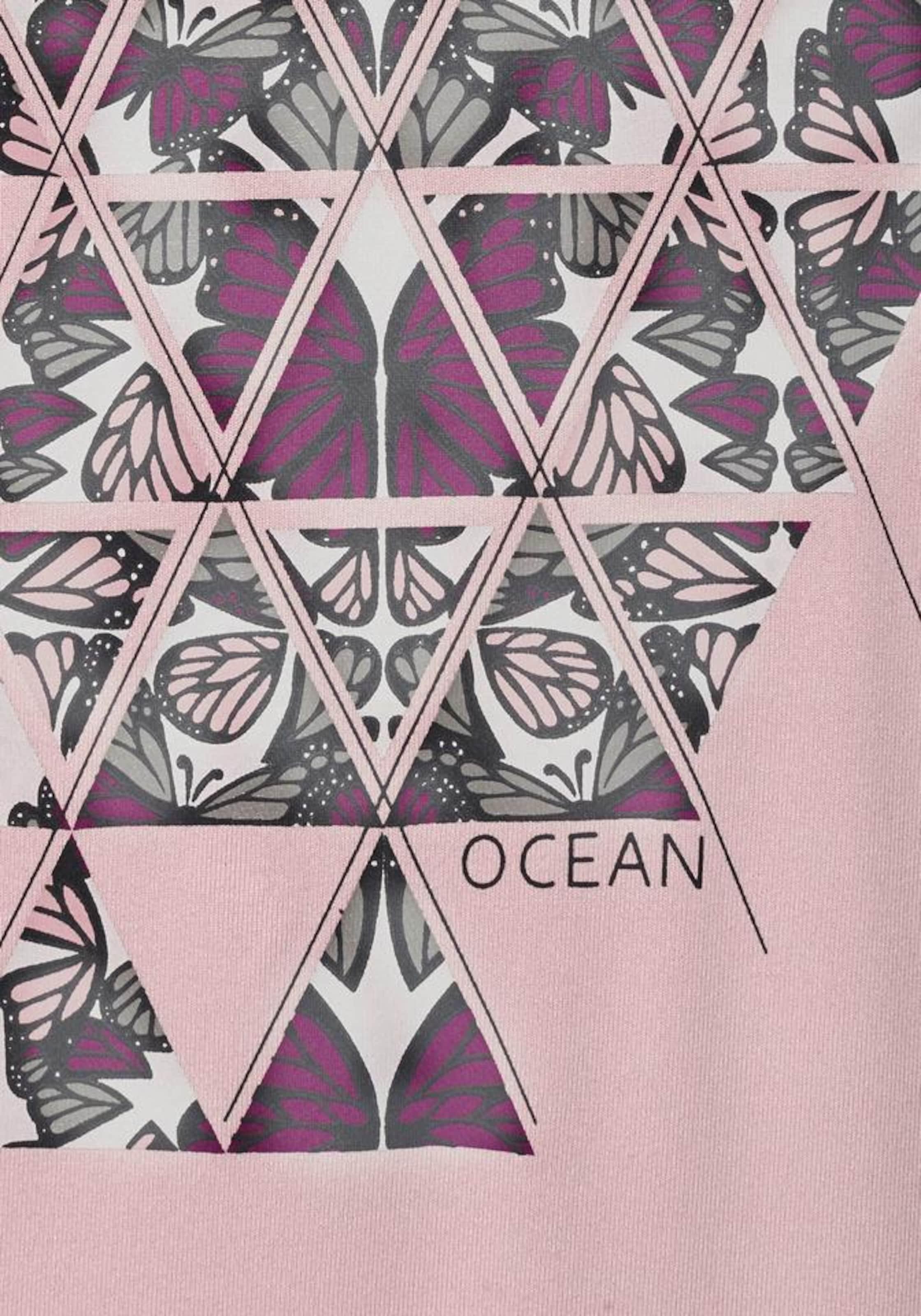 Shirt In Ocean Rotviolett Schwarz KhakiPastellgrün Altrosa Sportswear b7fYgy6