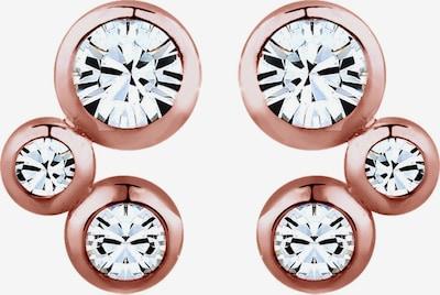 ELLI Ohrringe in rosegold / weiß, Produktansicht