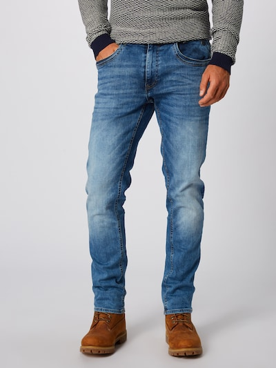 BLEND Jeans 'Blizzard' in blue denim: Frontalansicht