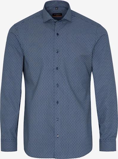 ETERNA Langarm Hemd SLIM FIT in blau / schwarz, Produktansicht