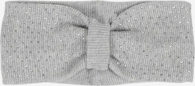 Zwillingsherz Stirnband in hellgrau, Produktansicht
