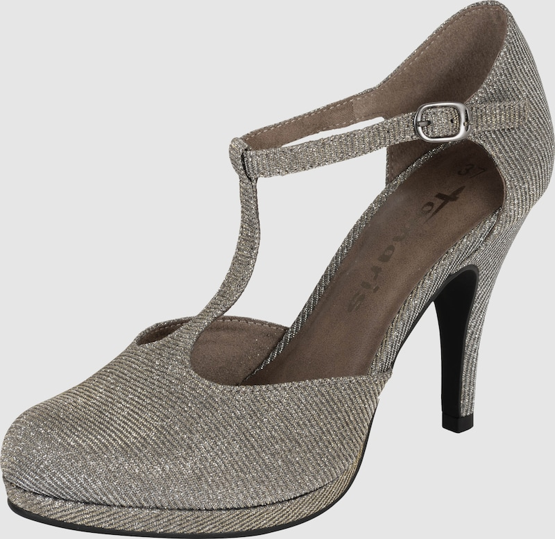 TAMARIS | Pumps mit Glitzerfäden