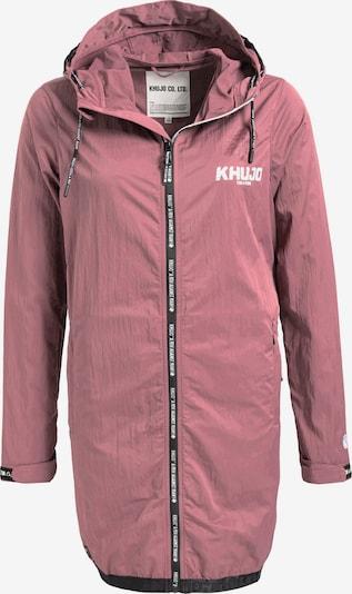 khujo Jacke 'FANNI' in pink / schwarz: Frontalansicht