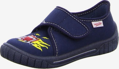 SUPERFIT Huisschoenen in de kleur Donkerblauw / Geel / Rood, Productweergave