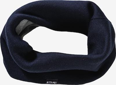 MAXIMO Schlauchschal in ultramarinblau / grau, Produktansicht