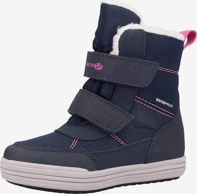 GEOX Stiefel in navy / pink, Produktansicht
