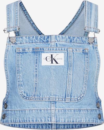 Calvin Klein Jeans Top in de kleur Blauw, Productweergave