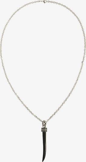 ROYAL-EGO Kette 'Necklace Tooth silver' in schwarz / silber, Produktansicht