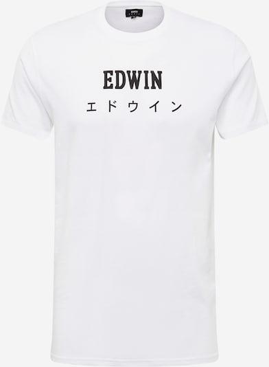 EDWIN Тениска 'Edwin Japan TS' в бяло, Преглед на продукта