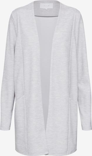 VILA Cardigan 'Savia' en gris clair, Vue avec produit