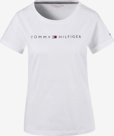 Tommy Hilfiger Underwear Schlafshirt in dunkelblau / rot / weiß, Produktansicht
