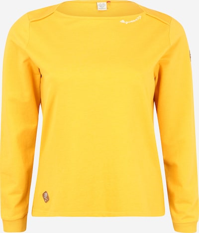 Ragwear Plus Sweatshirt 'PARDI' in gelb, Produktansicht