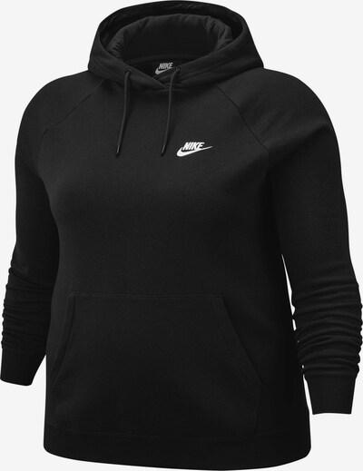Bluză de molton Nike Sportswear pe negru, Vizualizare produs