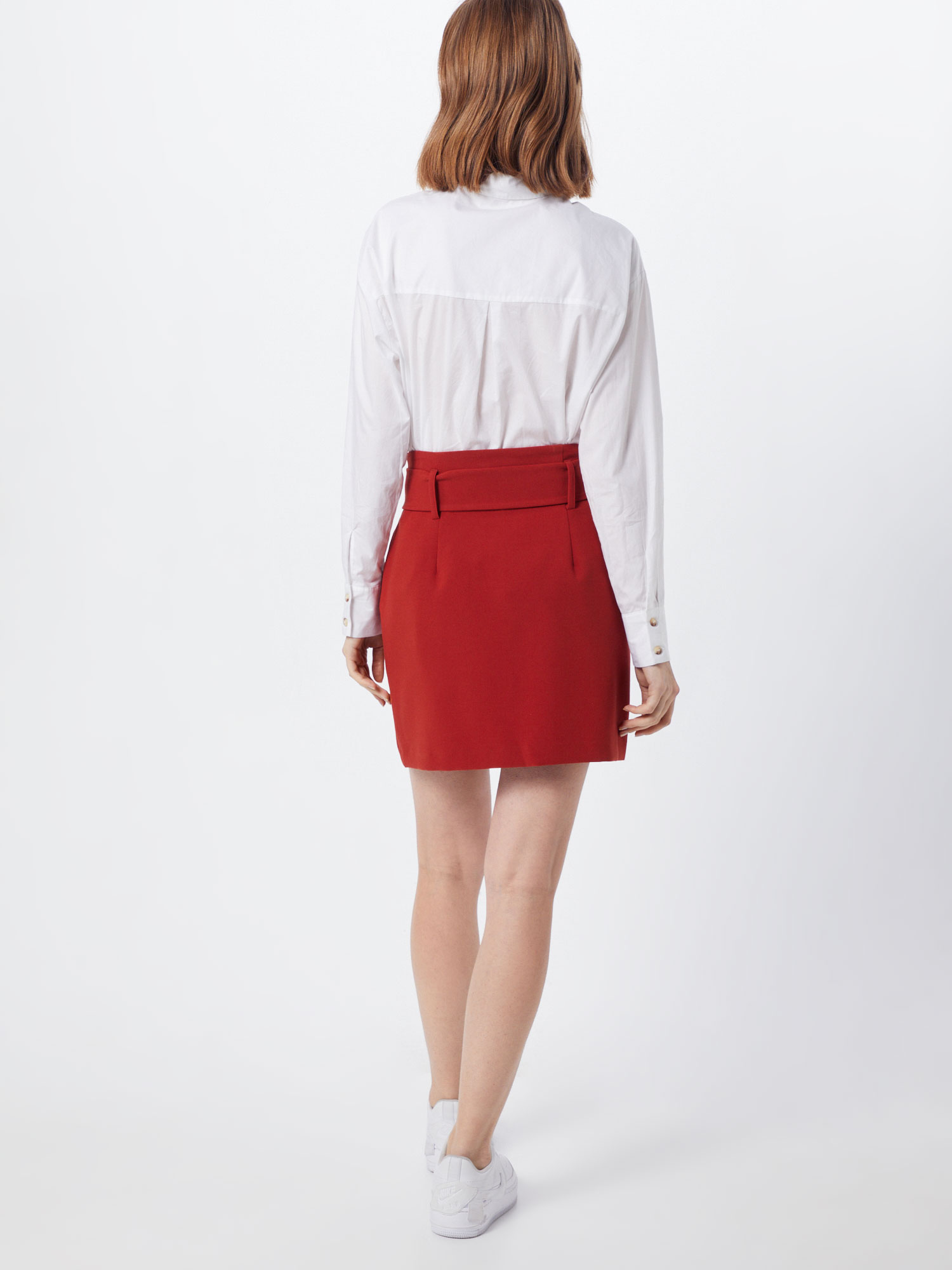 NEW LOOK Rok 'T COVERED BUCKLE UTILITY SKIRT' in Roestrood YcCN5xB5