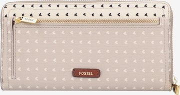 FOSSIL Portemonnaie 'Logan' in Pink