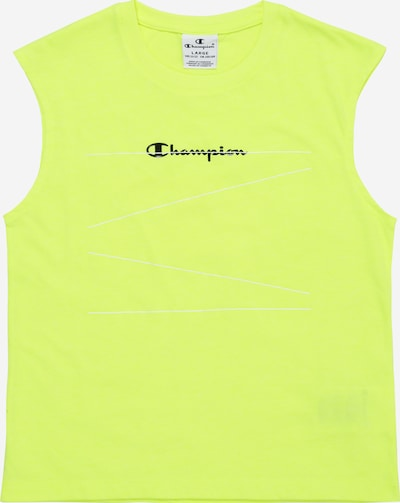 Champion Authentic Athletic Apparel Top in neongrün, Produktansicht