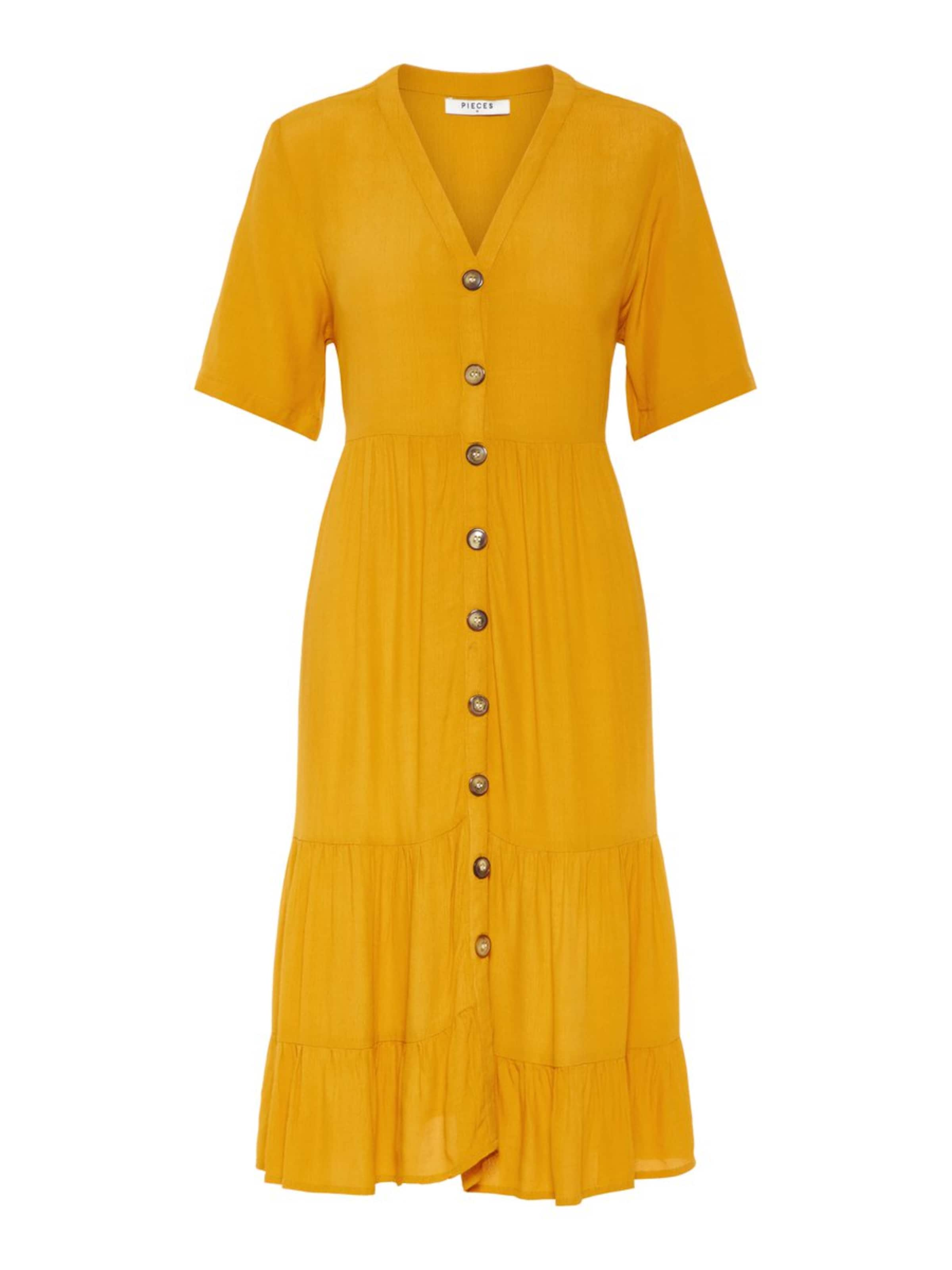 D'or Pieces Robe En chemise Jaune vYb6Iy7fgm