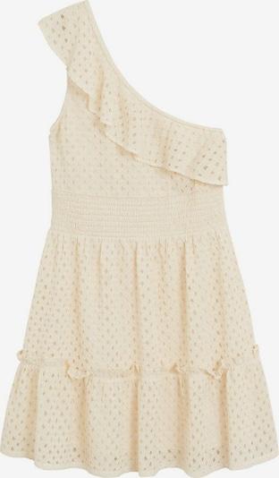 MANGO Kleid in creme, Produktansicht