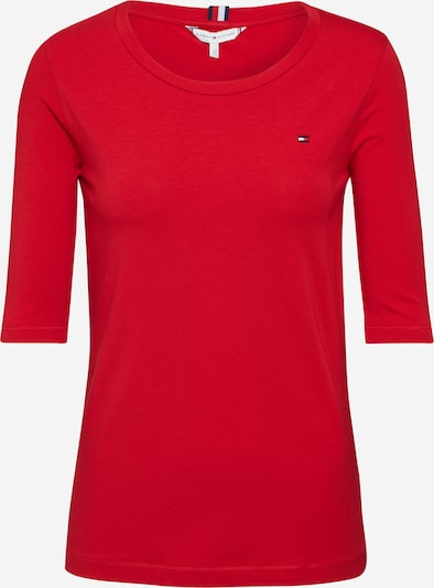 TOMMY HILFIGER T-Shirt 'Essential Solid C' in rot, Produktansicht