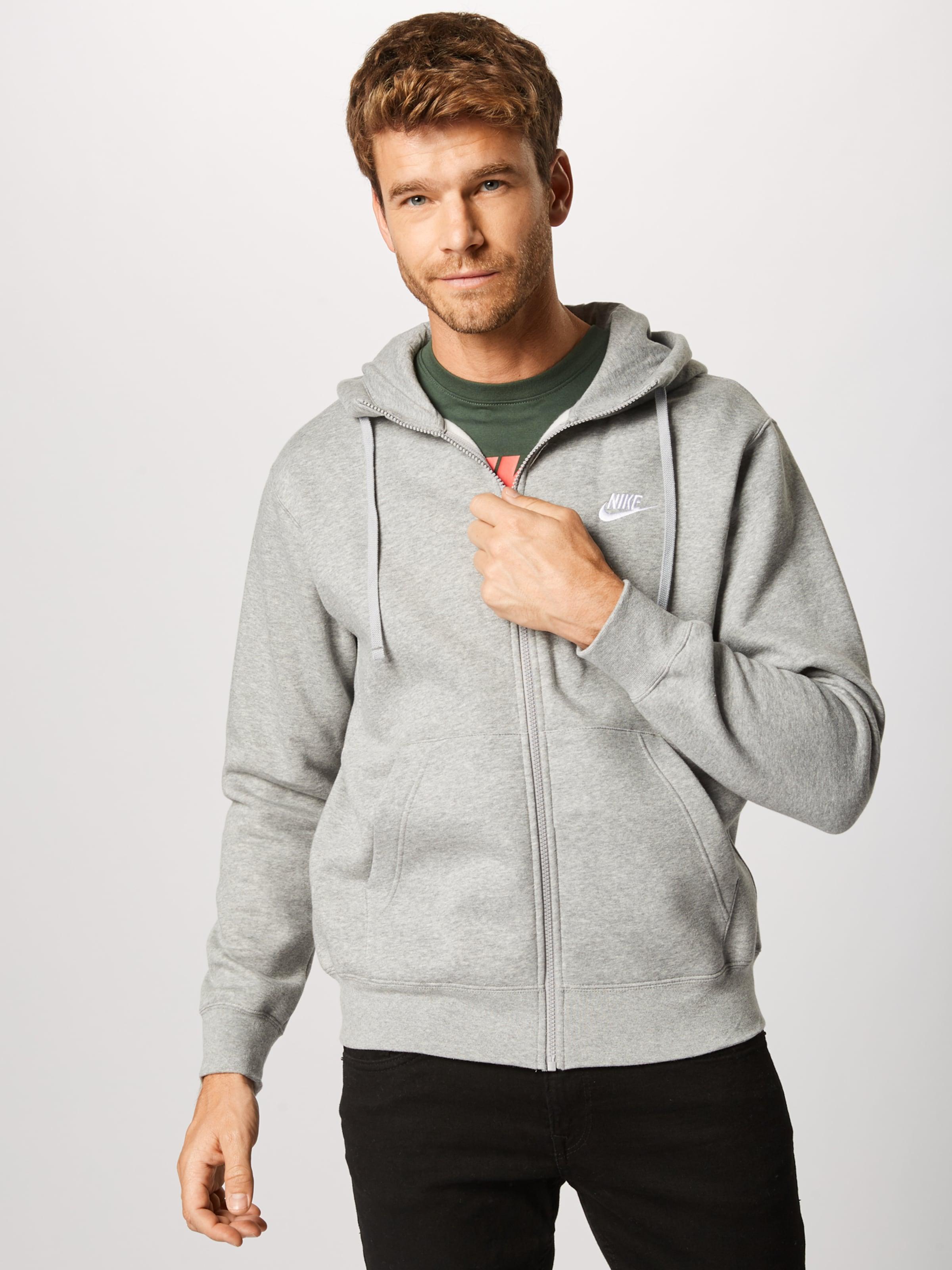 Sweatjacke Nike Graumeliert Sportswear In Sportswear In Sweatjacke Nike nOkNwPX08