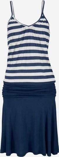 BEACH TIME Strandjurk in de kleur Blauw / Natuurwit, Productweergave