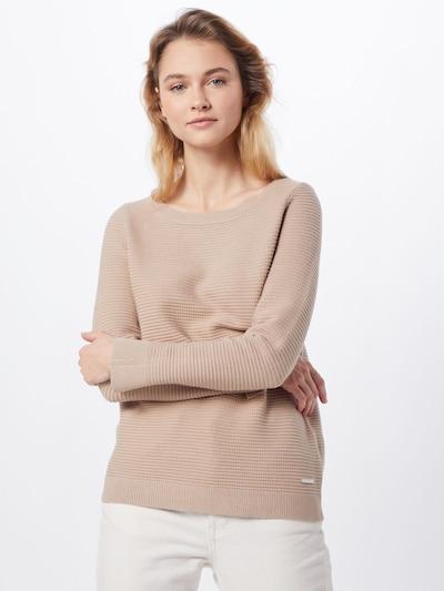 ESPRIT Pullover 'Ottoman' in beige, Modelansicht