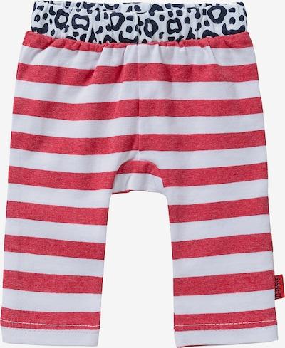 BESS Leggings in rot / weiß, Produktansicht
