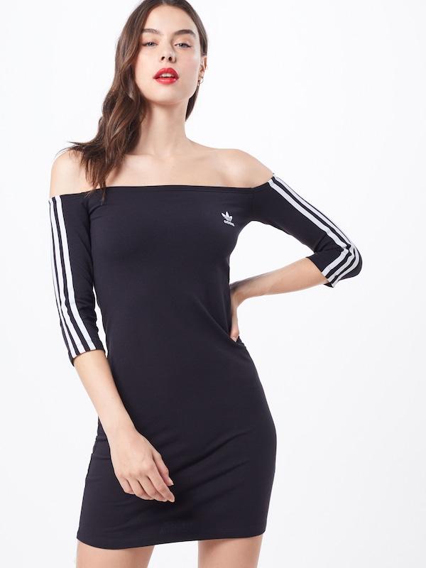 Dress' In Zomerjurk Adidas Originals Zwart 'shoulder K1lFTJc3