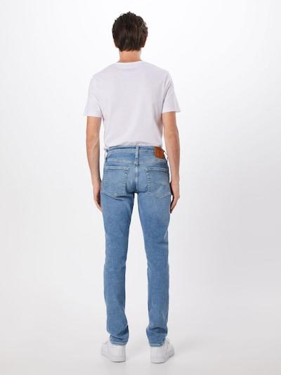 JACK & JONES Jeans 'Glenin' in blue denim: Rückansicht
