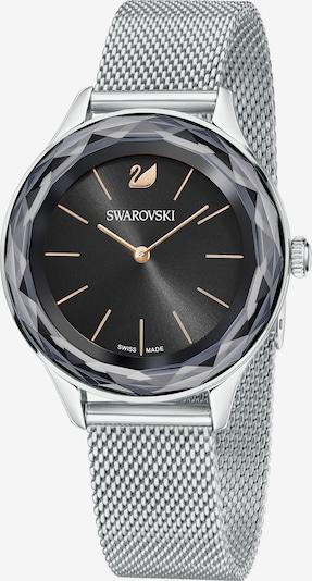 Swarovski Uhr in schwarz / silber, Produktansicht
