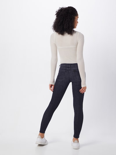 Lee Skinny-fit Jeans 'Scarlett' in blau: Rückansicht