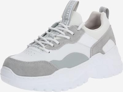 SKECHERS Baskets basses 'B-RAD BLOCK AND POP' en gris clair / blanc, Vue avec produit