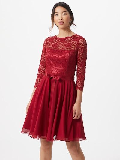 SWING Kleid in knallrot, Modelansicht