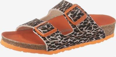 BIRKENSTOCK Schuh 'Arizona' in braun / orange, Produktansicht