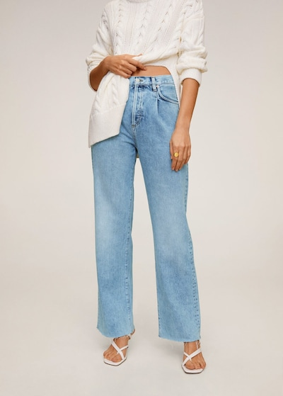 MANGO Jeans 'daniela' in kobaltblau, Modelansicht