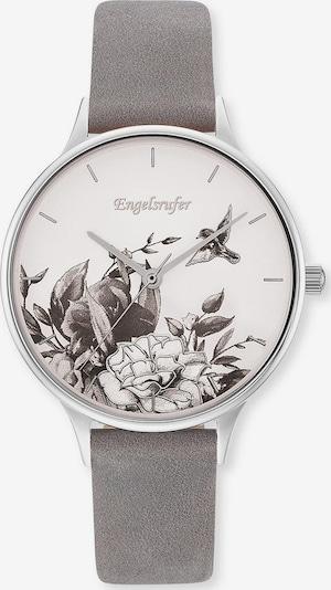 Engelsrufer Uhr in grau / weiß, Produktansicht