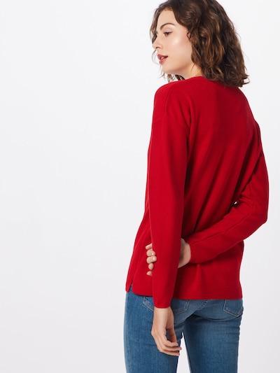 STREET ONE Pulover 'LTD QR Coralie' | rdeča barva: Pogled od zadnje strani