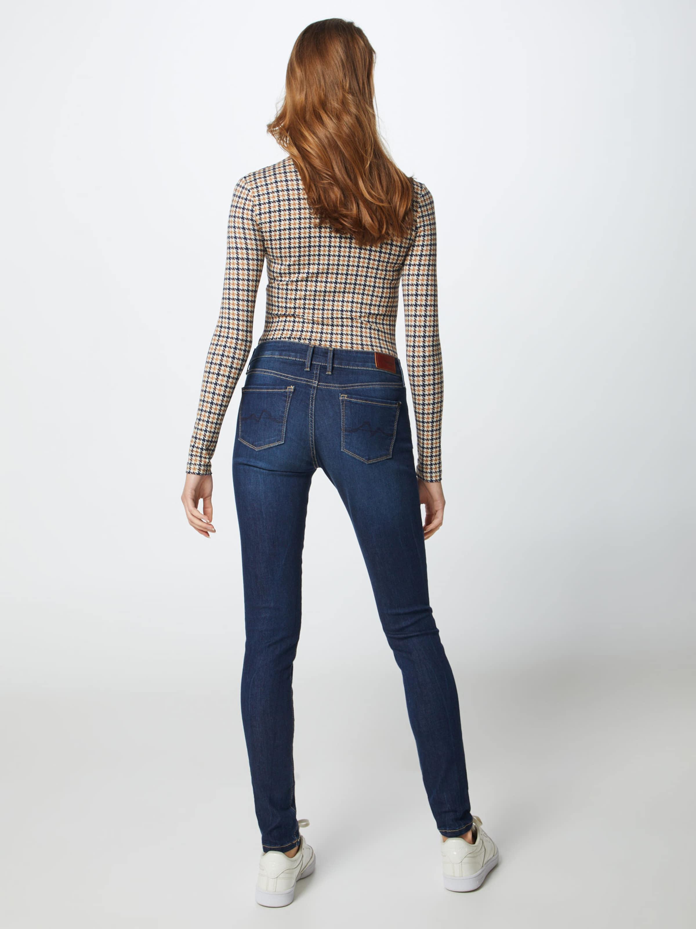'soho' Denim Jeans Pepe In Blue NnPkwOXZ80