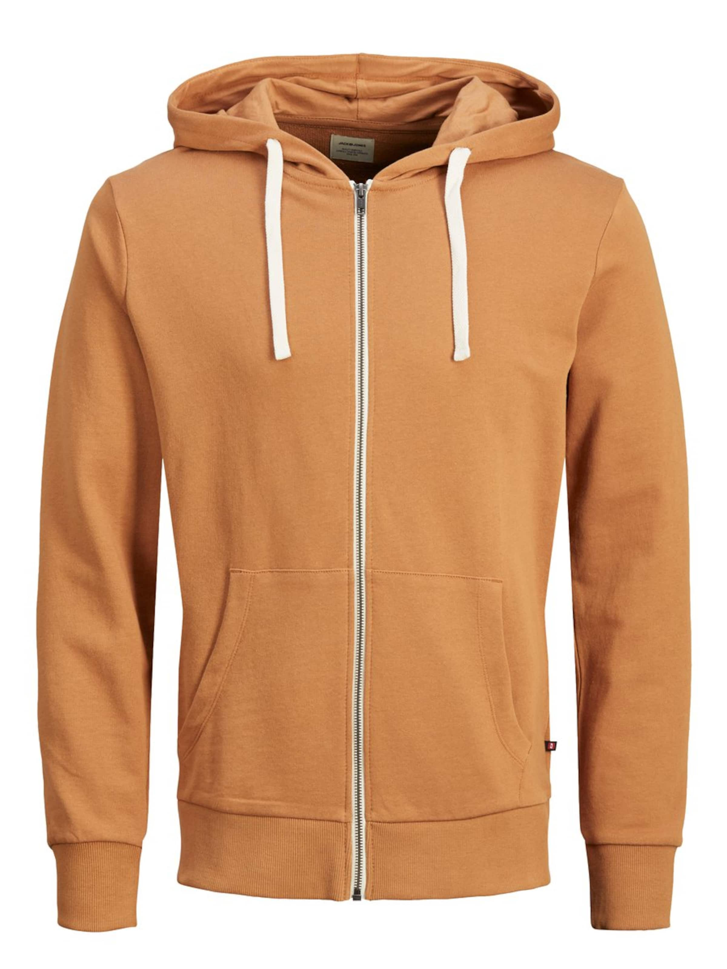 Jones Jackamp; CognacWeiß Jackamp; In CognacWeiß Sweatjacke Jones Sweatjacke In 8n0OwPkX