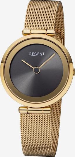 REGENT Uhr 'BA-517' in gold / schwarz: Frontalansicht